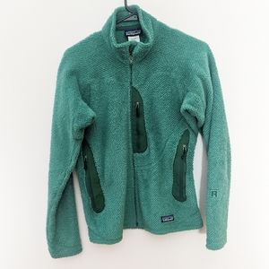 Patagonia Teal Re-Tool R2 Full-Zip Fleece Jacket